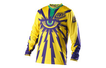 Troy Lee Designs GP Downhill Tricot Cyclops geel/paars